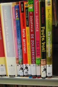 kinder boeken in de bieb (c) margot van den boer