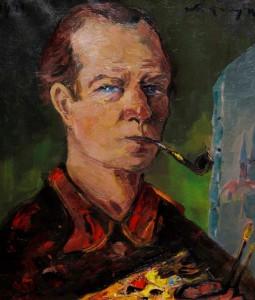 Zelfportret Antoon Kruijsen