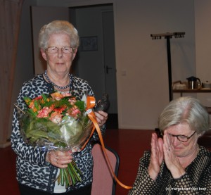Mevrouw Maria van Asten - Derks neemt na ruim 25 jaar afscheid bij KWF