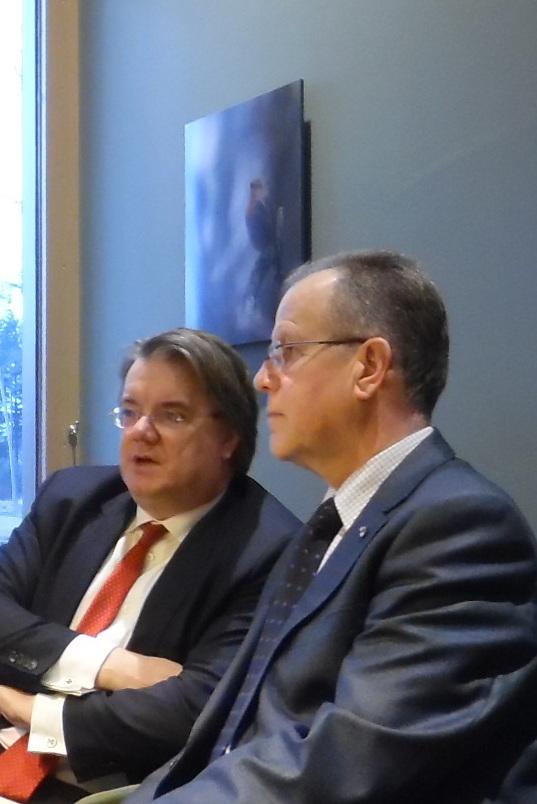 CvK Wim v.d. Donk en Burgemeester Paul Verhoeven
