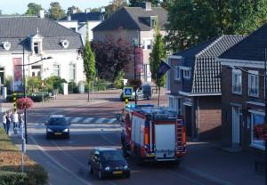 De brandweerauto op weg naar Roemenie (c) margot van den boer