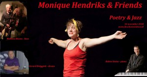 Monique Hendriks & Friends Poetry & Jazz datum