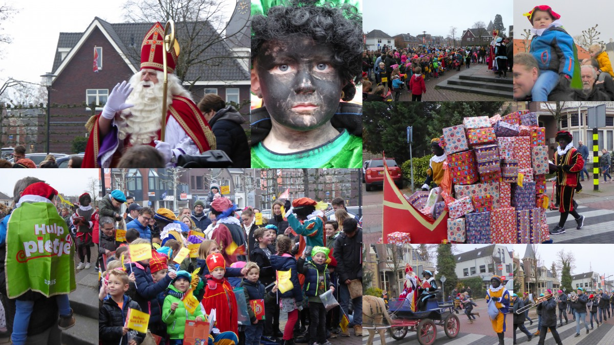 Aankomst Sinterklaas in Heeze (c) foto's margot van den boer
