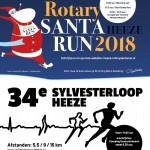 Sylvesterloop en Santa Run te Heeze samen op 23 december 2018