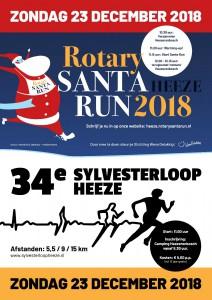 Santa Run en Sylvesterloop samen