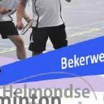 Badminton Heeze 1 uitgeschakeld in beker