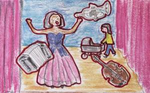 Volksopera tekening