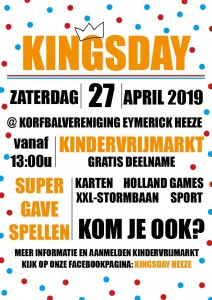 Poster Kingsday Heeze 2019