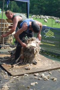 Stijn Massert aan het werk bij Kapellerput. (c) margot van den boer